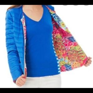 Lilly Pulitzer puffer jacket xs